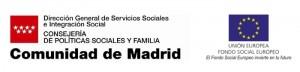 comunidad de madrid DG politicas sociales y familias