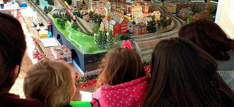 Salida especial de Navidad, niños centro penitenciario de Aranjuez