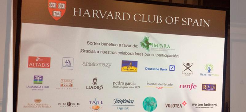 Cena anual Harvard Club of Spain
